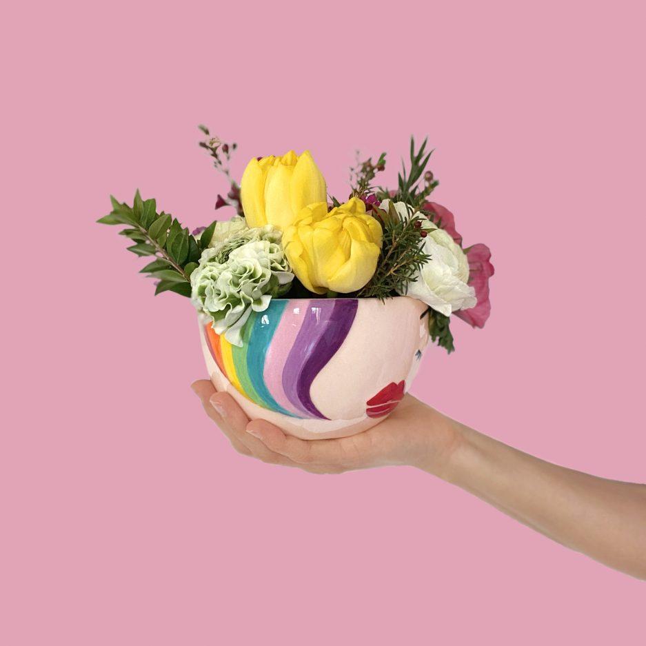 Vaso di design per fiori e piante