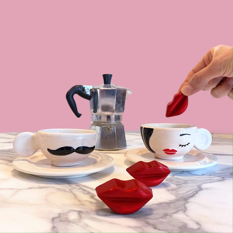 Tazzine da caffè Personalizzate per due
